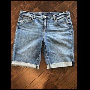 LOFT shorts - worn once! - size 12